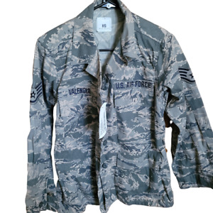 2 U.S. Air Force Coat Woman#x27;s Utility Camouflage Pattern Digital size 8S NEW $29.00