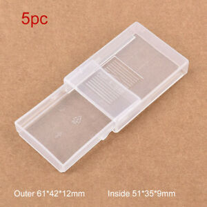 5PCS Small Plastic Storage Box For DIY Coins Screws Drawer Container DIY Travel $3.59