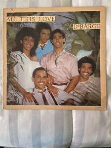 DeBarge quot;All This Lovequot; LP used in nice condition