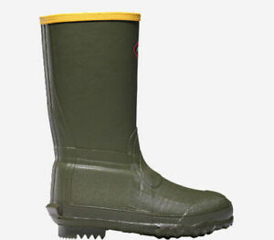Lacrosse Lil#x27; Burly 9quot; Youth Hunting Boots OD Green Sz 11 266003
