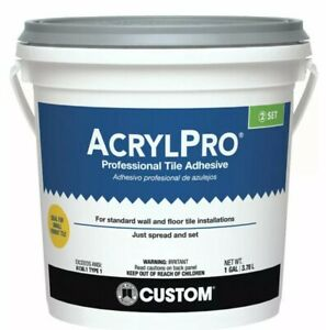 Custom Building Products AcrylPro Ceramic Tile Adhesive 1 gal