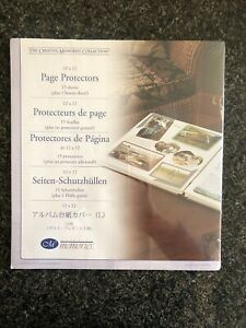 Creative Memories Page Protectors Old Style 12 x 12 16 Sheets $15.99
