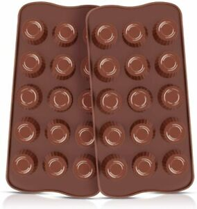 Silicone Chocolate Molds 2pcs Cup for CandyKeto