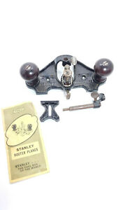 Vintage STANLEY No.71 Router Plane with Blade amp; Fence USA $139.99