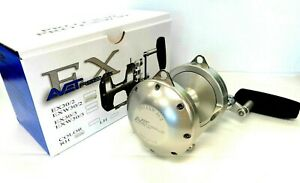 Avet EXW 30 2 Two Speed Lever Drag Reel EXW30 2 SILVER Right Handed NEW $469.99