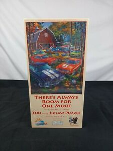 Classic Cars 300 Piece Puzzle Michael Irvine Room for One More 18x24 $12.00
