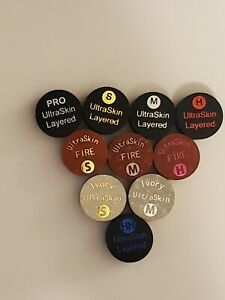 Ultraskin Layered Cue Tips best for cue lathe installation.10 pack mix or match