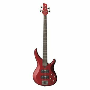 Yamaha TRBX304 4 String Electric Bass Guitar Candy Apple Red