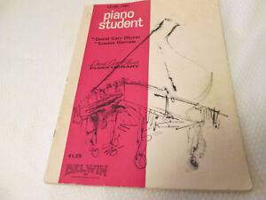 Vintage Level Two Piano Student by David Carr Glover Book 2 $3.00