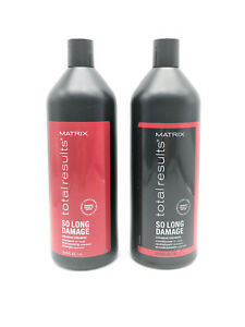 Matrix Total Results So Long Damage Shampoo amp; Conditioner Liter Duo