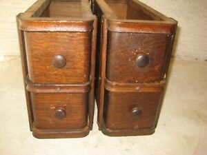Antique SINGER Treadle Sewing Machine Cabinet Drawers With Frames $38.00