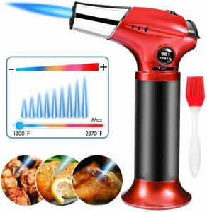 Creme Brulee Torch Butane Torch Cooking Torch Refillable Culinary Torch