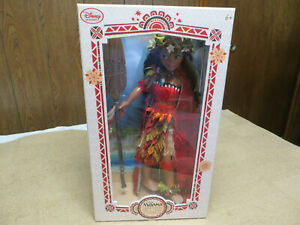 Disney Limited Edition Chief Outfit Moana Doll $215.00