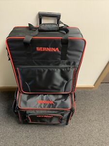 Bernina Sewing Embroidery Machine Luggage Roller Case Bag for 480 535 570QE 590 $435.00