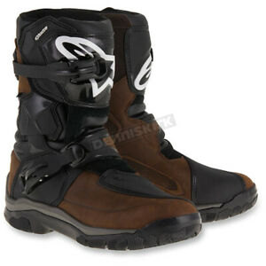 Alpinestars Brown Drystar Oiled Leather Boots Mens Size: 9 2047117 82 9 $279.95