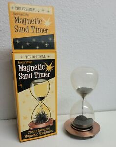 Sand Glass Timer Magnetic New In Box 5.5quot; Tall $18.99