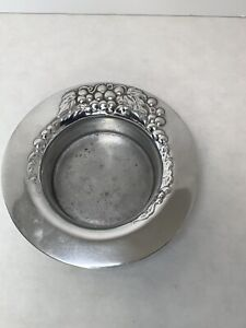The Wilton Company Grapevine Vintage Pewter Wine Champage Bottle Holder $16.99