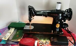Singer 201 2 sewing machine quot;The Rolls Royce of sewing machinesquot; w accessories $280.00