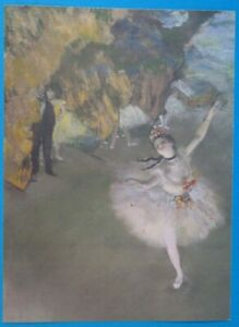 Degas quot;The Starquot; Lithograph Print quot;Masterpiece the World#x27;s Greatest Paintingsquot; $10.49