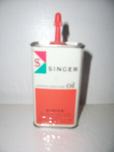 SINGER SEWING Machine Oil can 75 cents 4 fl oz $12.00