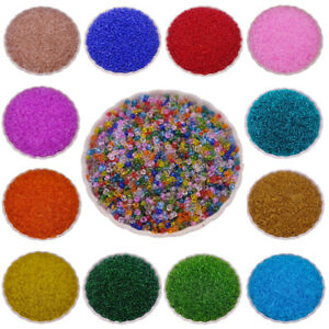 500Pcs 2mm Glass Beads Spacer Loose Beads Making Jewelry DIY Bracelet Necklace C $1.29