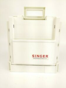 Vintage Singer Homechest Sewing Organizer Fold Up Thread Caddy w Contents $24.99