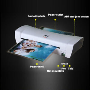 Small Photo Calligraphy Painting Plastic Packaging Film Laminator