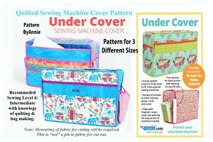 SEWING PATTERN QUILTED SEWING MACHINE COVER UNDERCOVER byannie by Annie patterns $8.96