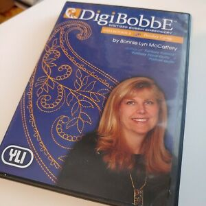 DigiBobbE Digitized Bobbin Embroidery Collection 3 Paisley Gems with YLI Thread $14.99