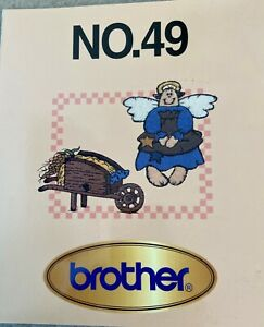 Brother Machine Embroidery Card No. 49 Country Designs PES Format $50.00