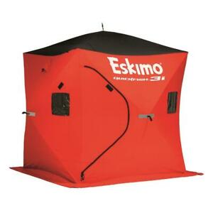 Outdoor Insulated Ice Fishing Shelter Eskimo Quickfish Portable Ventilated Bag