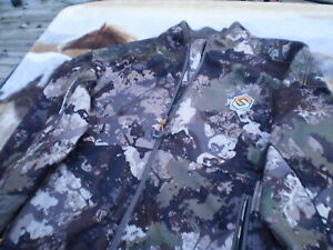 SCENT LOK Carbon ALLOY Camo Hunting Jacket Large