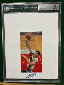 Yao Ming Autographed Photo Beckett Slabbed and Authenticated 8 X 10 Auto $499.00