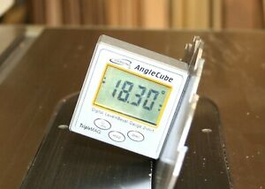 iGaging Angle Cube Digital Protractor Gauge Magnetic Angle amp; Level Sensor Bevel $28.95