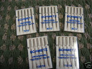 Schmetz Sewing Needles KenmoreBrother Janome 1012141618 Assorted Sizes $18.50