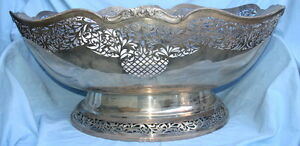 300oz. Sterling Silver 2002 English Hugh Bowl MAGNIFICENT & RARE