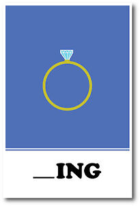 NEW LANGUAGE ARTS POSTER Ring Missing Letter Exercise POSTER