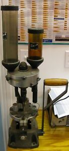 Vintage Super Heavy Duty TEXAN MODEL 12 GAUGE AUTOLOADER RELOADING PRESS
