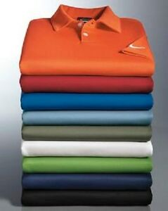 LOT OF 9 NWT NIKE GOLF - Dri-FIT Pebble Texture Polo