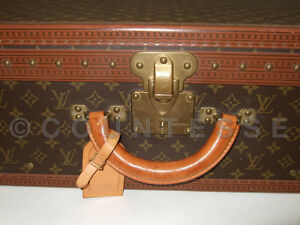 AUTHENTIC LOUIS VUITTON  VINTAGE TRAVEL TRUNK SUITCASE 1
