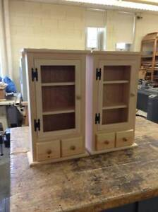 Duel Pine Shaker Cabinets