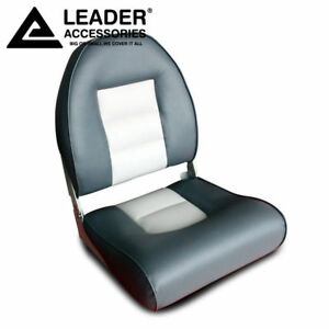 New Charcoal Gray Leader Accessories Marine Boat Seat