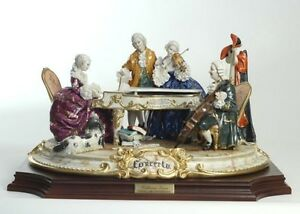 concert porcelain by walter scapinello made