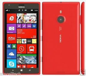 Nokia Lumia 1520 RED AT&T Only Windows 8 LTE 16GB 20MP 6