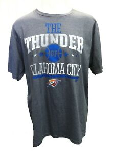 Oklahoma City Thunder MENS Shirt CLIMALITE T Shirt Gray by Adidas $29.99