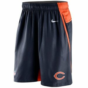 Chicago Bears MENS Shorts DRI-FIT Performance Speed Fly 3.0 by Nike