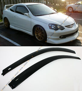 For 02 06 Acura RSX 2 Door Coupe DC5 Type S JDM Style Window Visors Rain Guard $29.99