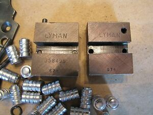 Lyman 358495 Double Cavity Wad Cutter Bullet Mold Lead Bullet Casting Mould