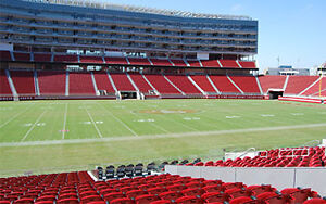 49er Season Tickets and Rights. Under face value. 118 Row 22 on Aisle. 2 Seats.