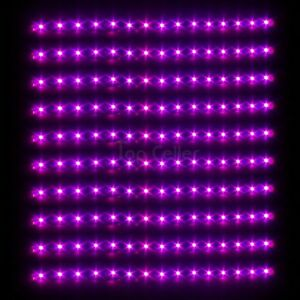 10pcs Pink Purple 15 LED 30CM Car Truck Flexible Waterproof Light Strip 5050-SMD